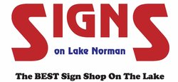 Signs on Lake Norman Logo