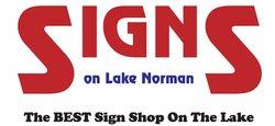 Signs on Lake Norman Logo